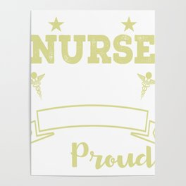 I'm A Nurse And A Mother Which Means I Am Busy And Proud Poster