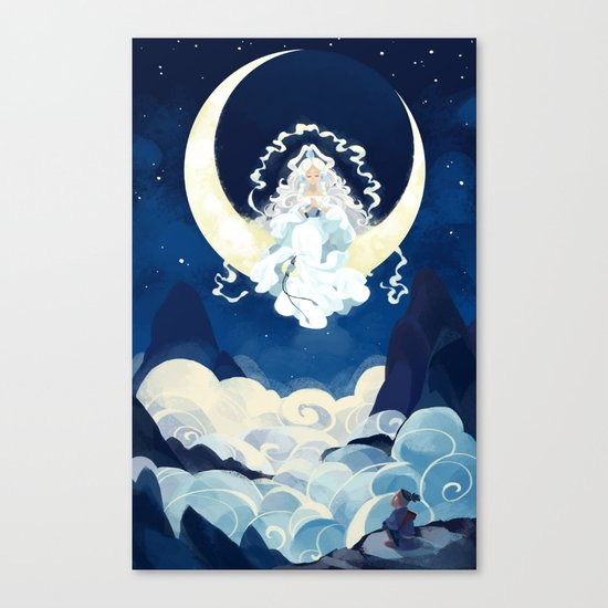 Yue - Avatar Canvas Print