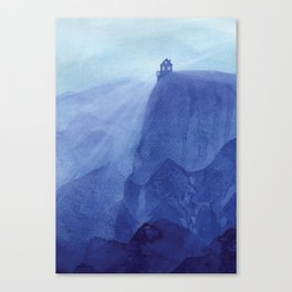 House on the rock, blue mountains Canvas Print