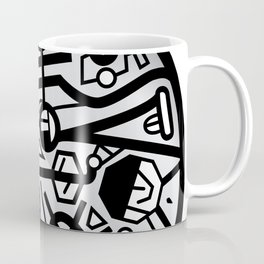 Inner Ticking Series - Black Coffee Mug