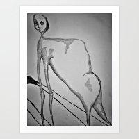 Evolution Creates Problems Art Print