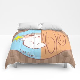 Fat Fat Peeks Comforters