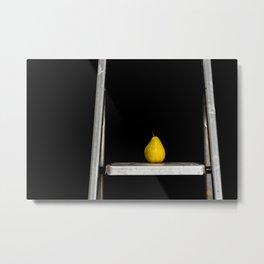 a pear of ladders Metal Print