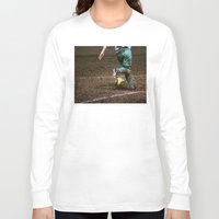 football Long Sleeve T-shirts featuring Football by Goncalo