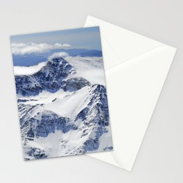 """Big mountains"". Aerial photography Stationery Cards"
