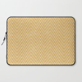 Mustard Chevron Laptop Sleeve