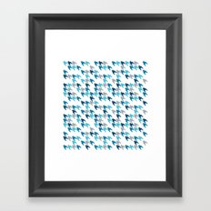 Blue Tooth #2 Framed Art Print