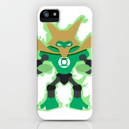 Green Lantern Alakazam iPhone Case