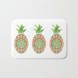 Pineapple Mandala Bath Mat