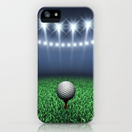 Golf iPhone Case