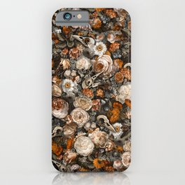 Baroque Macabre iPhone Case