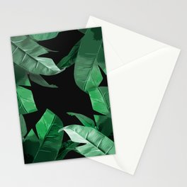 Tropical Palm Print #3 Stationery Cards