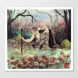 higanbana Canvas Print