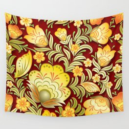 Art Flowers V2 Wall Tapestry