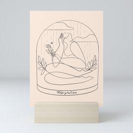 Morgentau (morning dew) Mini Art Print