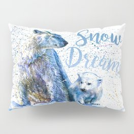Snow Dreams Pillow Sham