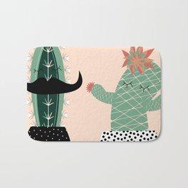 Mr. and Mrs Succulent Bath Mat
