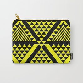 Black & Yellow Carry-All Pouch