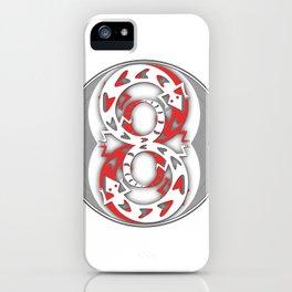 Crazy 8s iPhone Case
