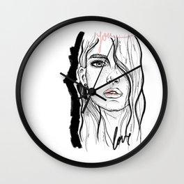 Portrait nº1 Wall Clock