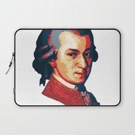 Mozart Minimalistic Pop Art Laptop Sleeve