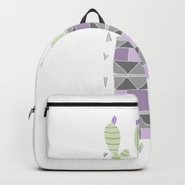 Potted Patterned Cacti Backpack
