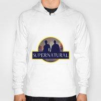 supernatural Hoodies featuring Supernatural  by amirshazrin