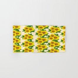 Nice Sunflowers  Hand & Bath Towel
