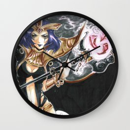 LeBlanc League of Legends Set Wall Clock