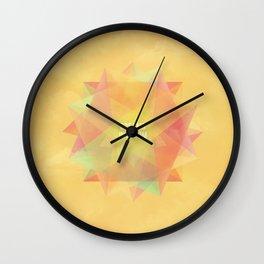 Dreams in bloom Wall Clock
