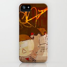 NYC Rooftops iPhone Case