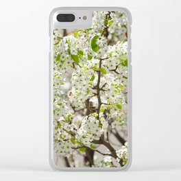 this year's blossoms Clear iPhone Case