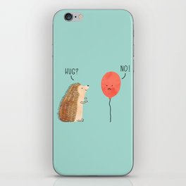 impossible love iPhone Skin