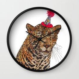 Jaguar Party Wall Clock