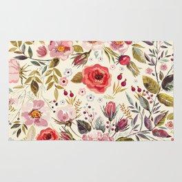 Floral Theme Rug
