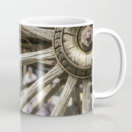 Calgary Stampede Chuck Wagon Wheel with Cobwebs Coffee Mug