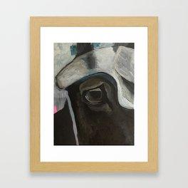 ABE sketch Framed Art Print