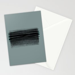 Grey square Stationery Cards