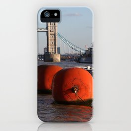 The River Thames, London, England iPhone Case