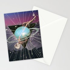 space sleep Stationery Cards
