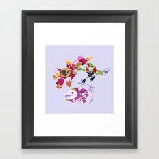 Battle Beasts - Trio 6 Framed Art Print