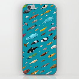 Sleeping Animals iPhone Skin