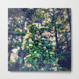 When Flowers Take Over Metal Print