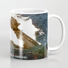 USS BENJAMIN FRANKLIN (SSBN-640) Coffee Mug