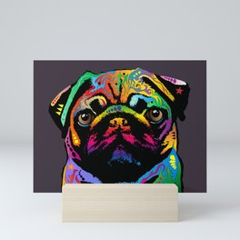 Pug Dog Mini Art Print