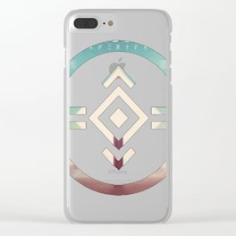 porter robinson _ madeon shelter blu Clear iPhone Case