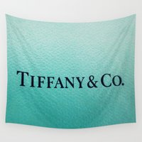 tiffany Wall Tapestries featuring Tiffany by Christine Leanne