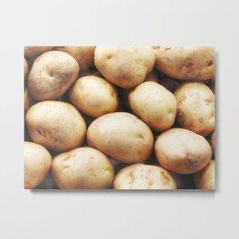 potato texture Metal Print