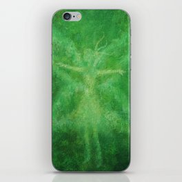 Green fairy iPhone Skin