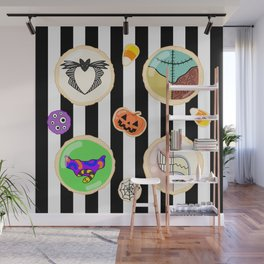 Halloween Cookies Wall Mural